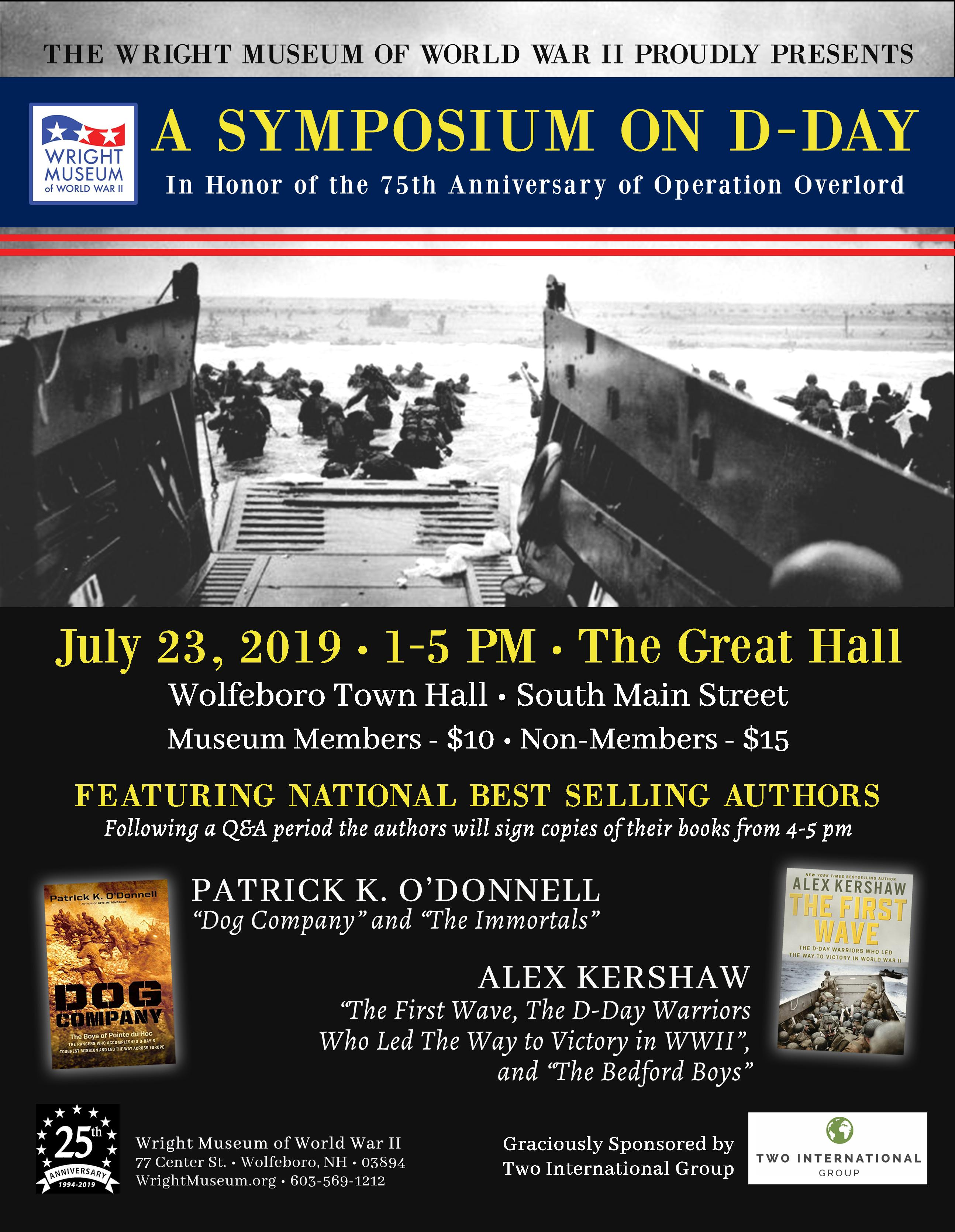 Symposium on D-Day | Wright Museum of World War II